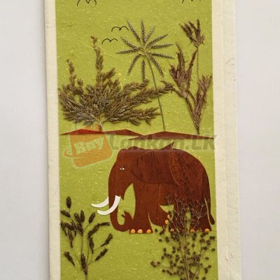 Eco friendly greeting card
