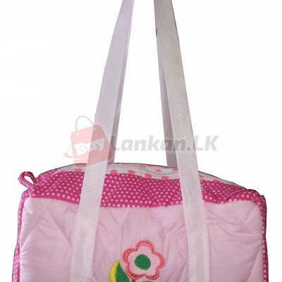 Small Flower Pink Bag