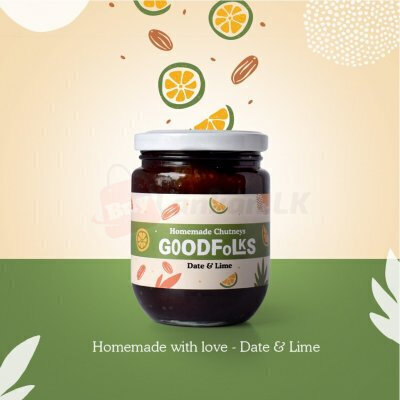 100% Natural Homemade Chutney - Date & Lime