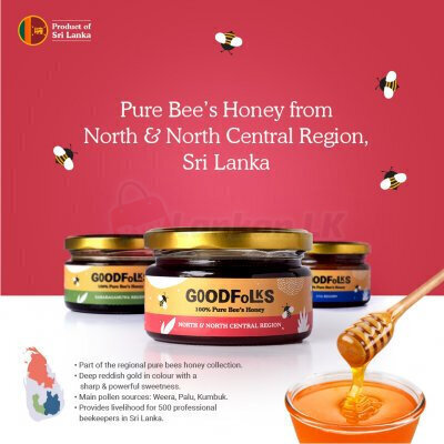 Sri Lanka Pure Bee Honey - Regional Collection - North & North Centra