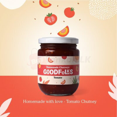 100% Natural Homemade Chutney - Tomato