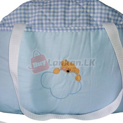 Half Moon Baby Bag Blue